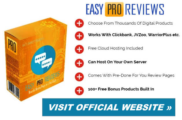 Easy Pro Reviews Features