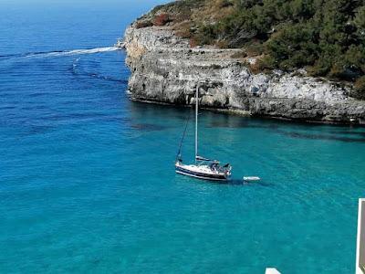Playas de  Palma de Mallorca con agua turquesa