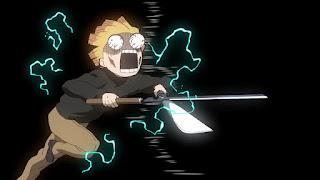 鬼滅の刃アニメ 劇場版 無限列車編   我妻善逸  Agatsuma Zenitsu    Demon Slayer Mugen Train
