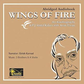 Free Audiobook Wings of Fire Audible voice of Girish Karnad