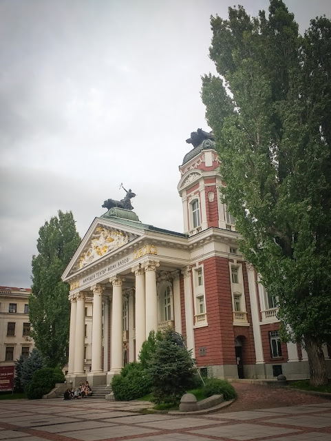 Ivan Vazon national theatre; Sofia, Bulgaria