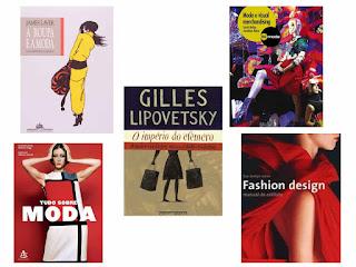 livros sobre moda