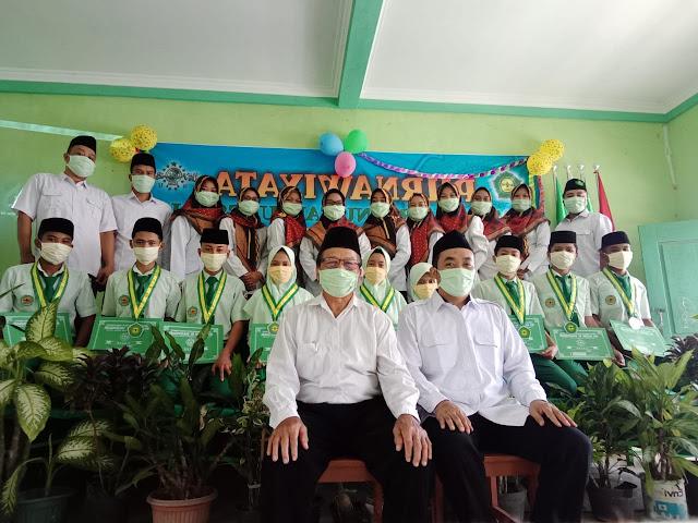 Purnawiyata MTs. Ma'arif NU Tanjungsari Berlangsung Ditengah Pandemik Covid-19