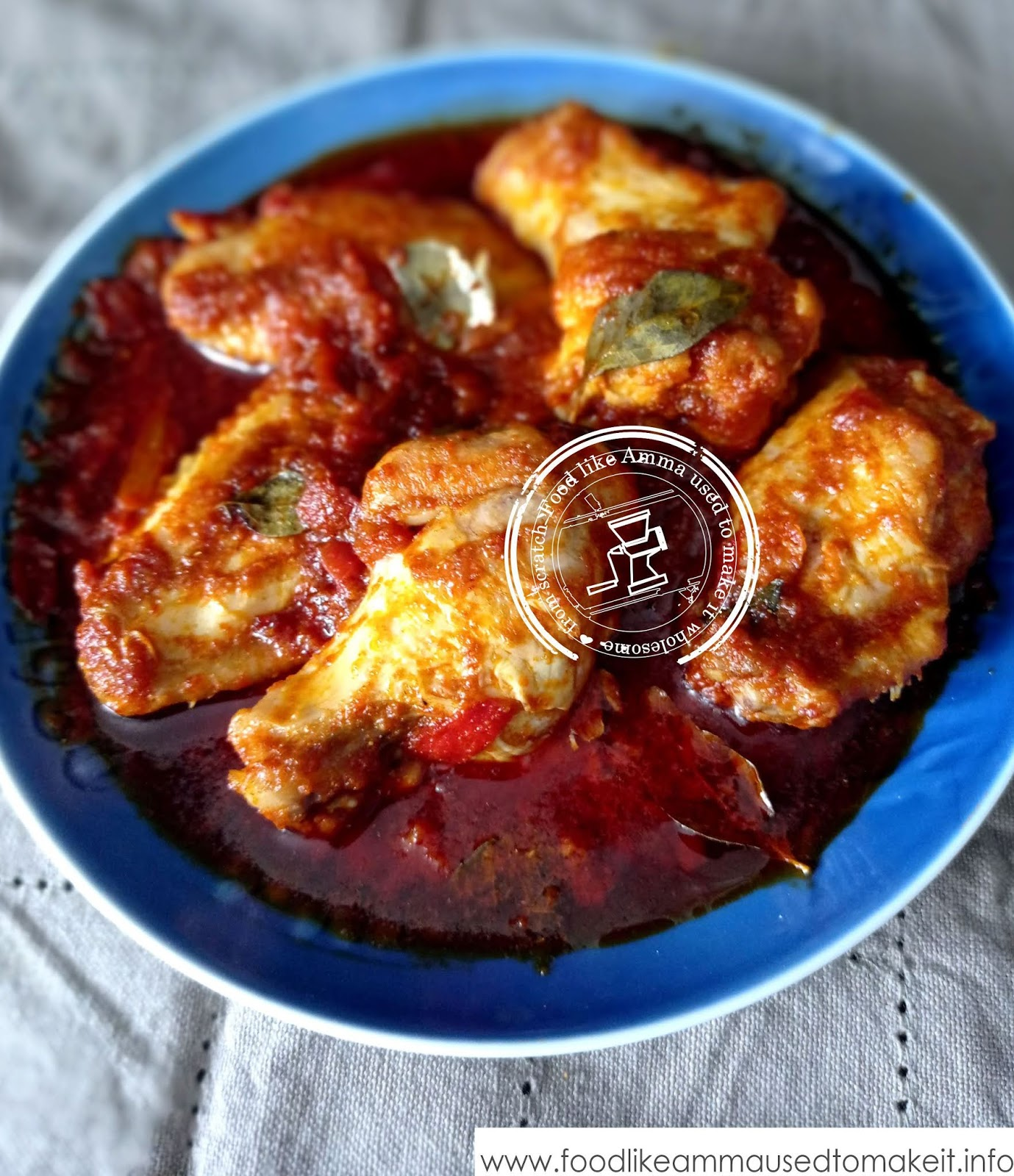 Durban birth masala chicken curry