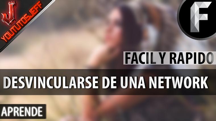 COMO SALIR DE CUALQUIER NETWORK/PARTNER