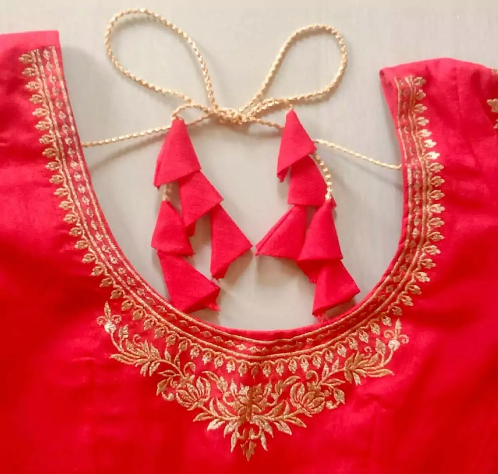 Ready Made Embroidery Designs Blouse