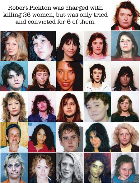 26 victims of convicted killer Robert Pickton