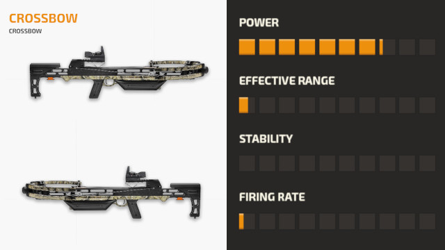 Senjata Crossbow PUBG