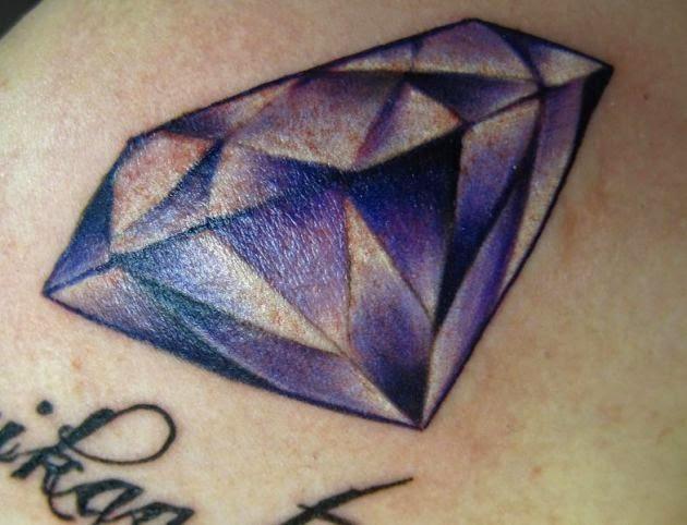 diamant tattoo. Black Bedroom Furniture Sets. Home Design Ideas