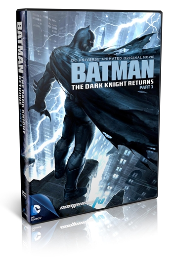 Batman The Dark Knight Returns Part 1 DVDR NTSC Full Español Latino 2012