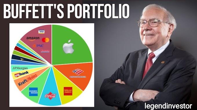 A Breakdown Of Warren Buffett Portfolio 2021
