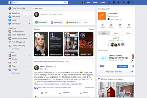 فيسبوك تحدد موعد التخلي عن الواجهة القديمة