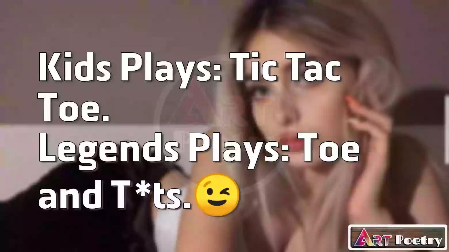 sissy caption | hentai caption | sissy caption story | sissy caption stories | sissy caption reddit | sissy captions | sissy hypno | sissy hypnosis | sissy training, Kids Plays: Tic Tac Toe. Legends Plays: Toe and Tlts.