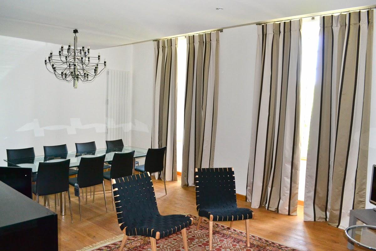 Double rideaux salle a manger design - Rideaux salle a manger salon ...
