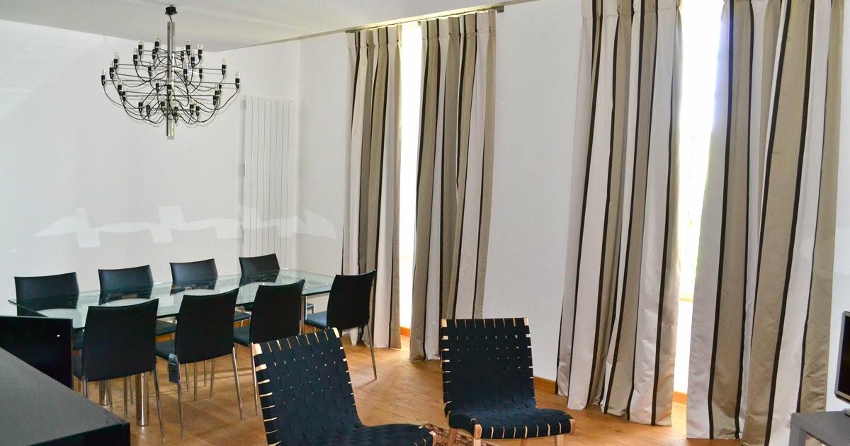 double rideaux salle a manger design. Black Bedroom Furniture Sets. Home Design Ideas