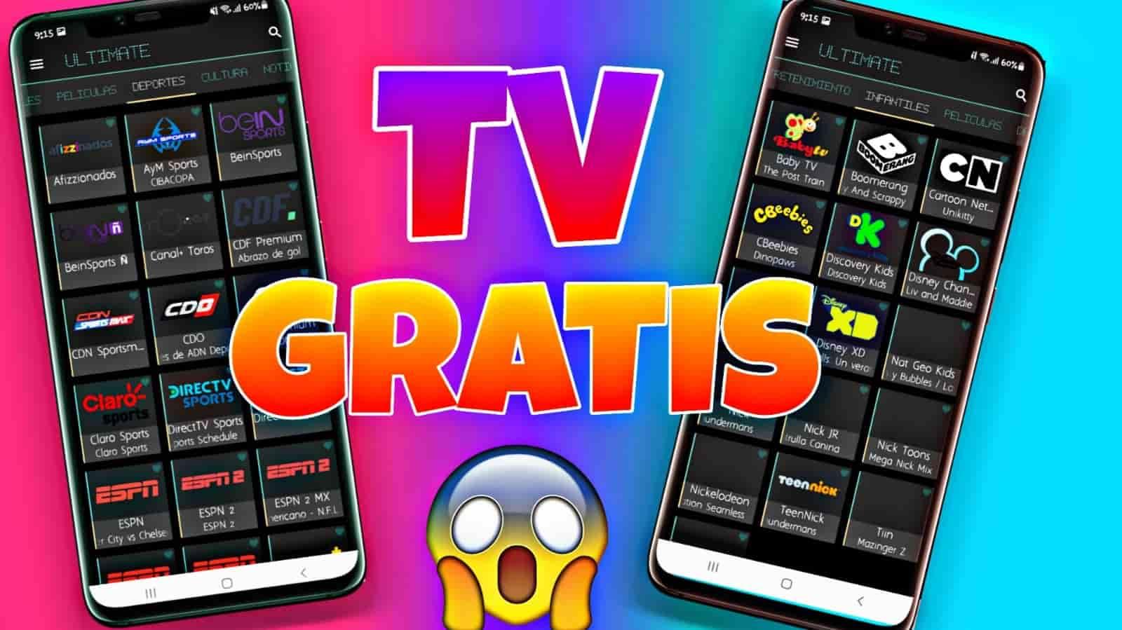 ULTIMATE 2 Mejor Aplicación Para Ver TV Gratis 2021