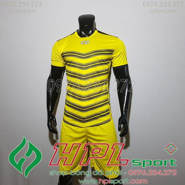 Áo ko logo T90 Leg màu vàng