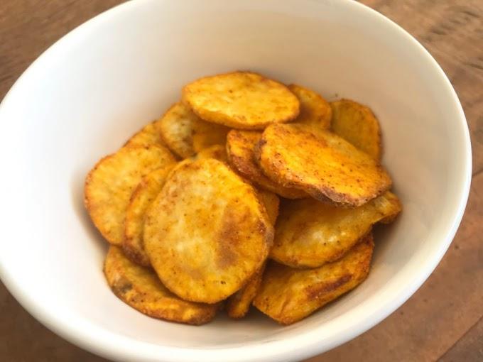 Batata Doce Com Páprica na Airfryer – Douradinha e Deliciosa!