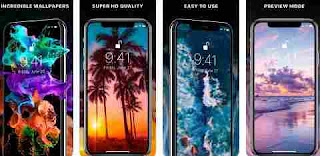 Aplikasi Wallpaper iPhone