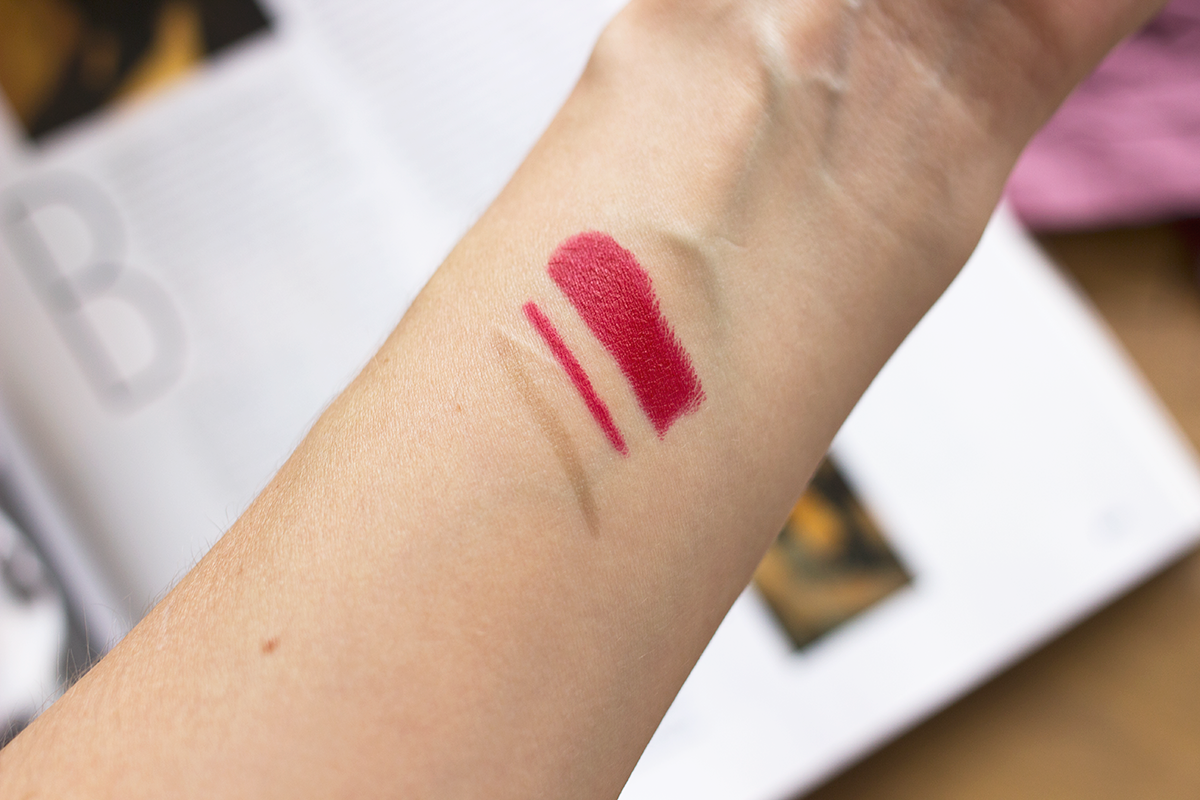 Stila Stay All Day Matte'ificent Lipstick Swatches