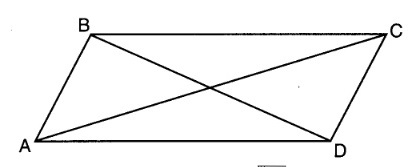 X why august 2016 common core geometry regents part 1 quadrilateral abcd with diagonals ac and bd is shown in the diagram below ccuart Gallery