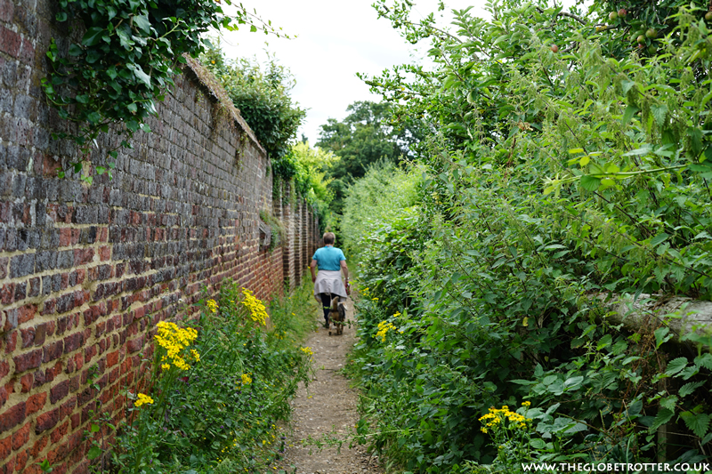 Walking trails at Forty Hall