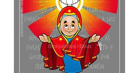 nossa senhora de pentecostes para colorir amiguinhos de deus
