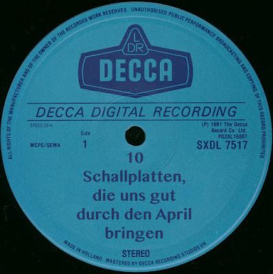10 Schallplatten, die uns gut durch den April bringen