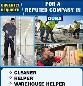 Urgent Recruitment Cleaner and Warehouse Helper For Construction Company in Dubai