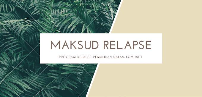 Relapse Prevention Pemulihan Di Dalam Komuniti