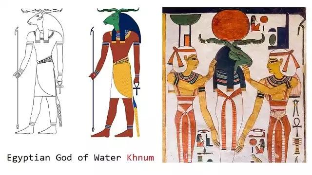 Egyptian God of Water Khnum