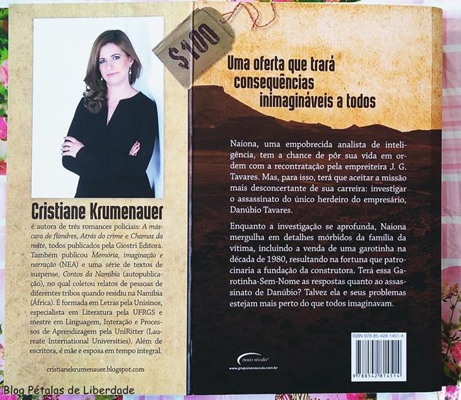 Resenha, livro, O-preco-de-uma-vida, Cristiane-Krumenauer, Novo-Seculo-Editora, sinopse