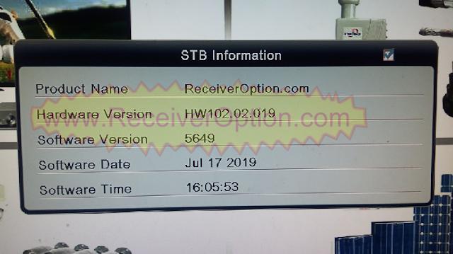 ALI3510C HW102.02.019 TEN SPORTS & CCCAM OK NEW UPDATE WITH STARSAT MENU