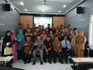 Kunjungan Kerja Kantor Kementerian Agama Kab. Sukabumi di Kemenag Majalengka