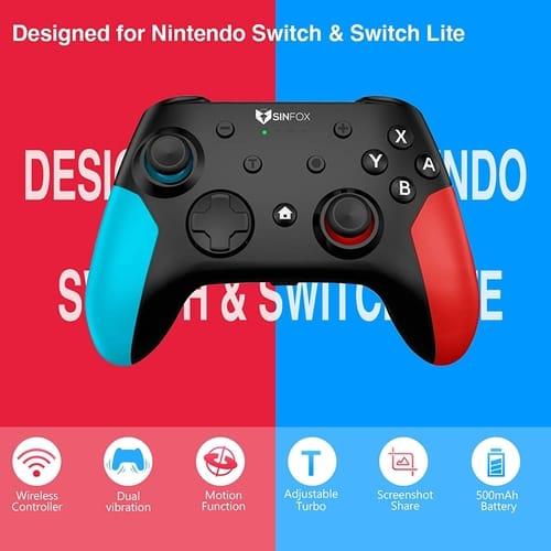 Sinfox Controller Gamepad for Nintendo Switch