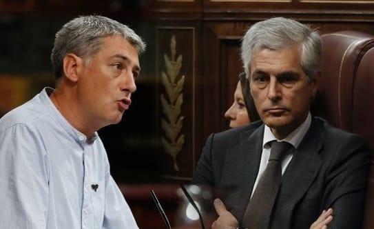 SPOILER del diputado Oskar Matute a Suárez Illana en el Congreso