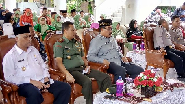 Pangdam IM Kunjungi Pendopo Walikota Langsa