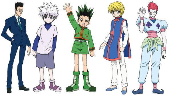 Hunter x Hunter, HxH, Gon, Killua, Hisoka, Leorio, Kurapika, anime facts, hunter x hunter facts