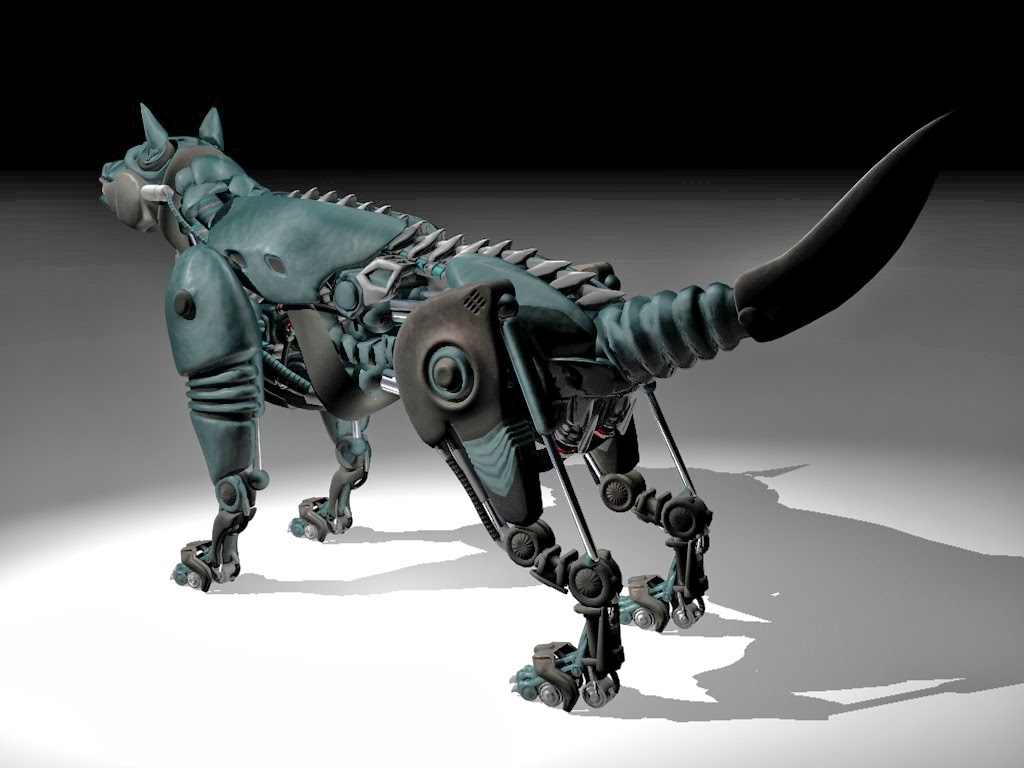 robot dogs fun art - photo #39
