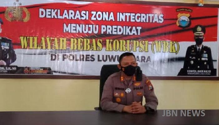 Optimis Raih WBK, Polres Luwu Utara Terus Perbaiki Sistim Pelayanan Bagi Masyarakat