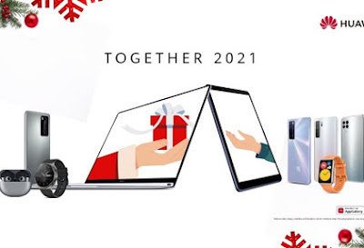 Christmas made Brighter with these Gifts from HUAWEI!