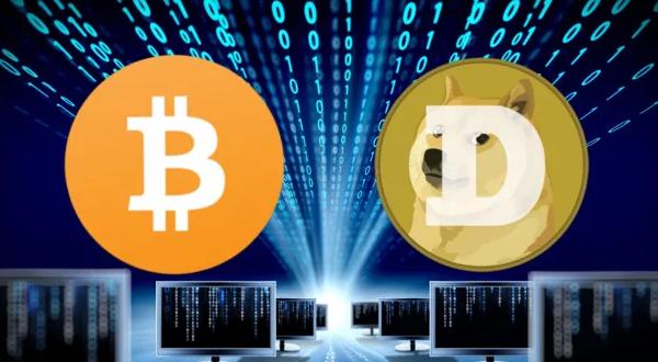 Bitcoin и Dogecoin