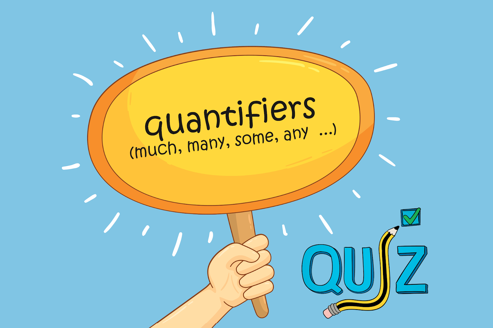 Quantifiers Much Many Some Any Etc Multiple Choice