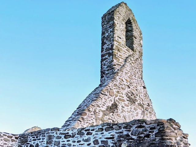 Ballinskelligs Abbey near Waterville Ireland