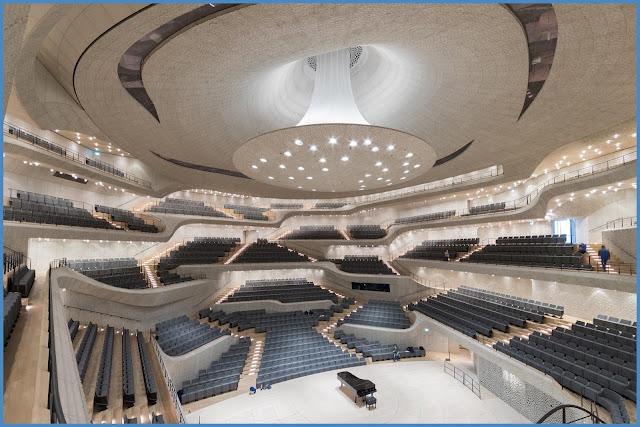 Elbphilharmonie Transsolar from Elbphilharmonie interieur