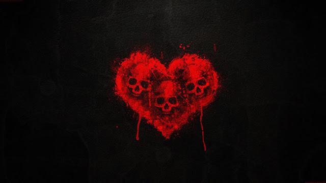 Heart Skull Wallpaper Engine