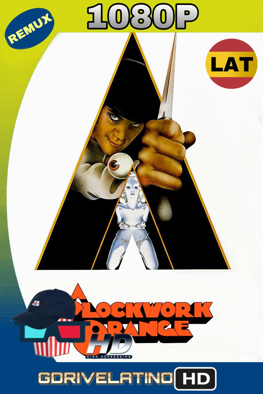 La naranja mecánica (1971) REMUX 1080p (Latino-Inglés) MKV