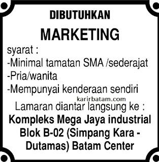 Lowongan Kerja Mega Jaya Industrial
