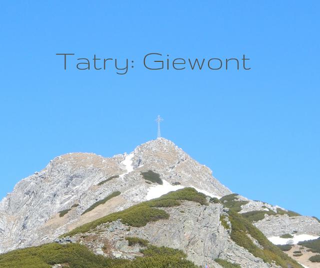 Tatry szlak na Giewont
