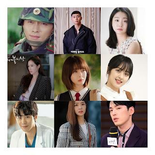 Daftar 30 Artis Drama Korea Terpopuler Februari 2020,Hyun Bin Teratas